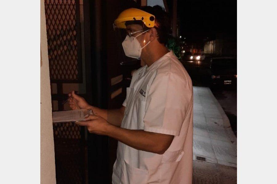 El Hospital junto a la policía controla el cumplimiento de los aislamientos