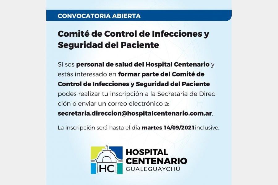 Comité Control de Infecciones y Seguridad del Paciente