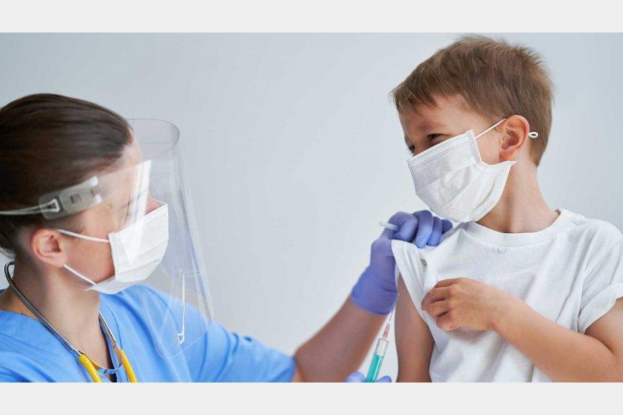 Vacunación contra el Covid-19: Ya se pueden inscribir a niños y niñas de 3 a 11 años