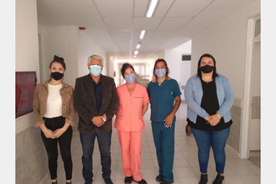 Cupo laboral: Personal trans se suma al equipo de trabajo del Hospital Centenario