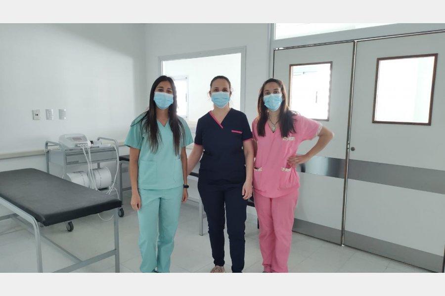 El servicio de Kinesiología comenzó a funcionar en el nuevo edificio del Hospital