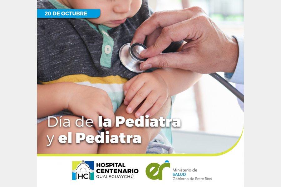 Día Nacional del Pediatra: ¡Felicidades a todos nuestros profesionales!