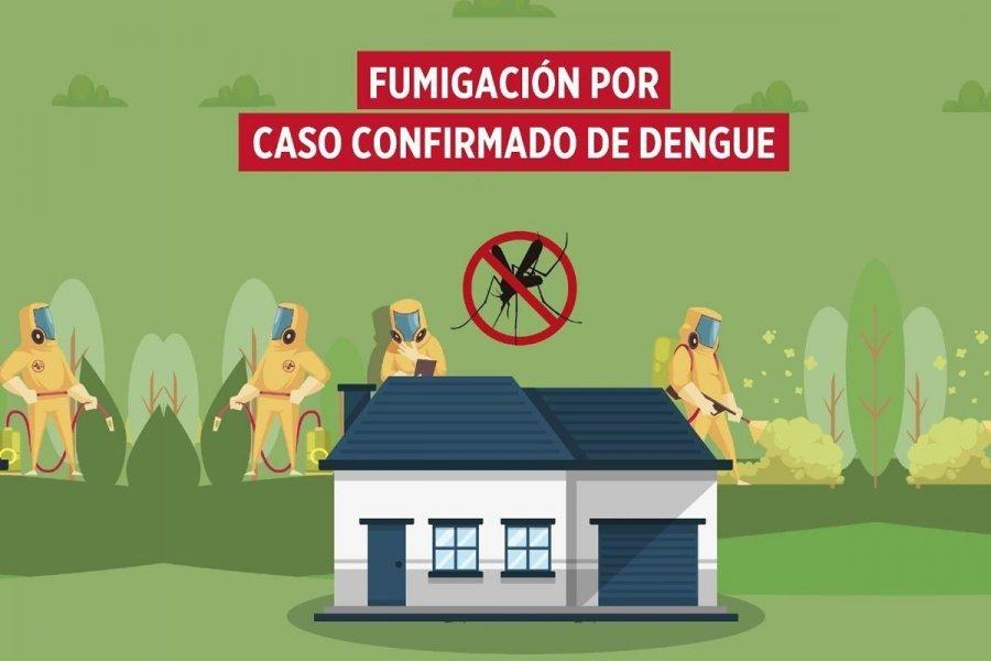 ¡Atención Dengue!: dos nuevos bloqueos con fumigación!