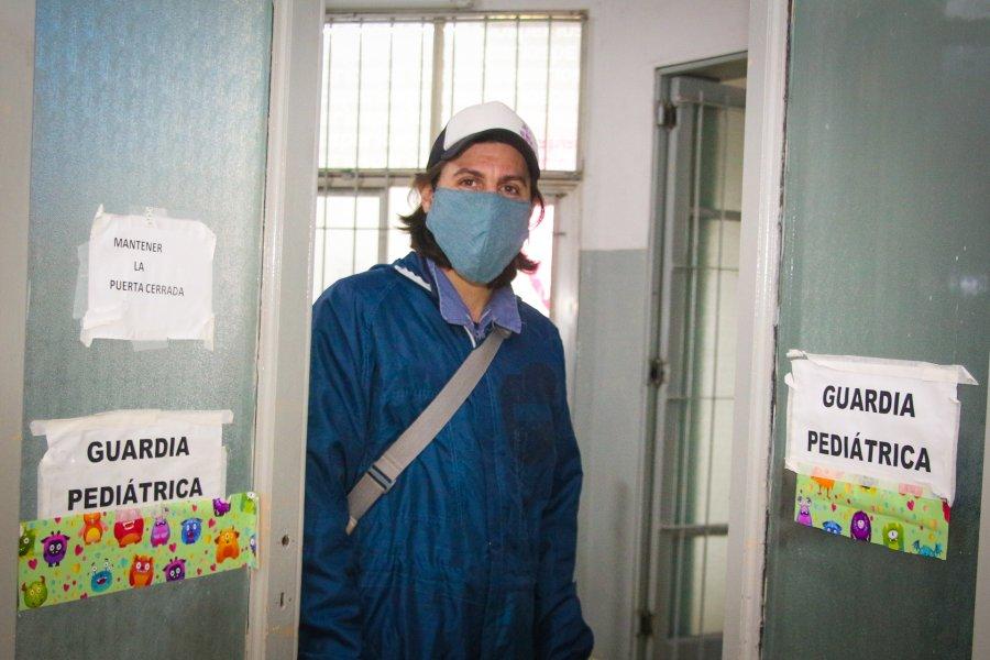 Un artista intervino los consultorios del servicio de Pediatría del Hospital Gualeguaychú