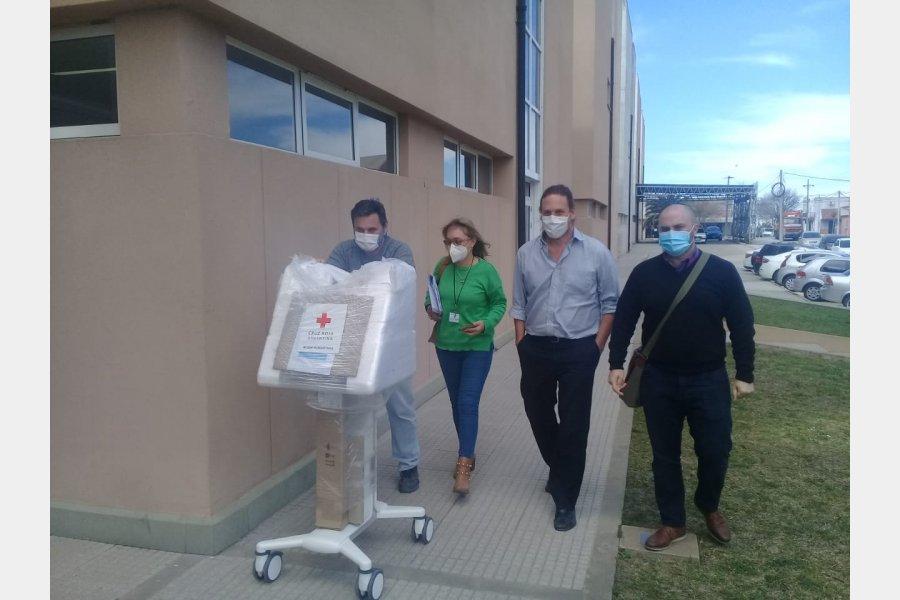 El Hospital Gualeguaychú recibió tres respiradores de última tecnología